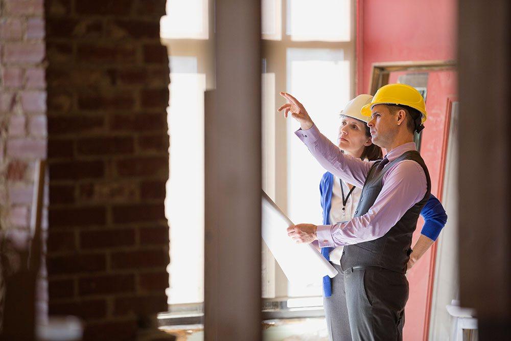 Architect Consultation showing client
